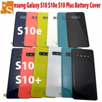 Top Sales Back Battery Cover For Samsung Galaxy S10 S10E S10 Plus G973 G970 G975 Rear Door Housing Glass Case Replacement Part