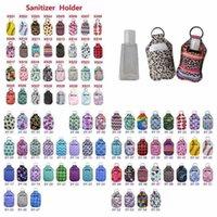 Neopren-Hand Sanitizer-Flaschenhalter 30ml Lip-Stick-Halter-Lip-Abdeckung Handtasche Schlüsselanhänger-Tasche Lip-Stick-Halter einfach zu tragen