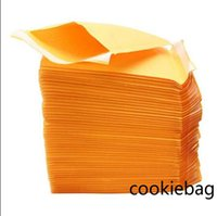 Top Quality Bubble Cushioning Wrap Yellow Kraft Bubbles Edibles Mailers Padded Envelopes Bag Self Seal Business School Office Supplies