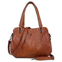 Luxurys Bags Designer Tote Bag Branded crossbody Shoulder_bag Handbag 2021 Retro Women Leather Three-Layer Pocket Female Messenger Luxury S