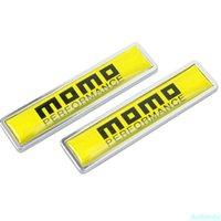 Car Styling Door Side Sticker Emblem Decals Exterior Accessories for MOMO Logo for Ferrari Land Rover Audi Renault Mazda KIA