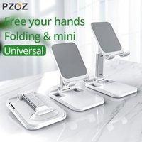 PZOZ 유니버설 데스크 I11 8 데스크탑 태블릿 셀 테이블 홀더 휴대 전화 스탠드 마운트