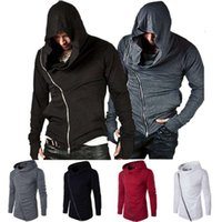 Tracksuits Hoodie Sportswear Assassin Creed Ao Ar Livre Esportes Camisola Casaco Masculino