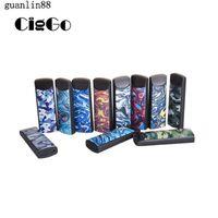 Authentic Ciggo Hipuff Disposable Vape Pen Starter Kit For Thick Oil 1ml Cotton Coil Ceramic Coil