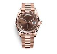 Einzigartige geschenke für liebhaber frauen und männer uhr automatische bewegung edelstahlband hohe qualität anhaltende bewegung tt männer Uhren armbanduhrgeschenk