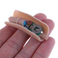 1 шт. Magic Crop Metal ITR Невидимая резьба Закрыть вверх Center Thumb Ticks Tricks