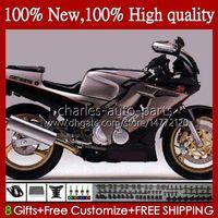 Bodys Kit för Yamaha Svart Silvery FZR250R 96-97 FZRR FZR 250R 250RR FZR 250 R RR 96 97 Bodywork 110HC.59 FZR-250 FZR250 R RR FZR250RR FZR250-R FZR-250R 1996 1997 FAIRING