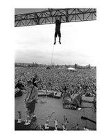 Pearl Jam PinkPop 1992 Poster Pintura Impressão Decoração Home Decoração Emoldurada ou Imfamed Material Fotopaper
