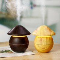 Essential Oils Diffusers 3 In 1 Air Humidifier Usb Aroma Diffuser Mist Maker Mini Wood Grain Ultrasonic Humificador For Home Office With 7 C