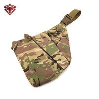 Sacos ao ar livre Men'smilitar Armazenamento escondido Bag Arma Gun Holster Crossbody Mochila Multifuncional Anti-Theft Hunting