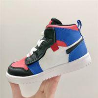 Nike aj1 children's shoes 2021 نوعية جيدة أحذية الأطفال العصرية ومريحة كرة السلة 24-36