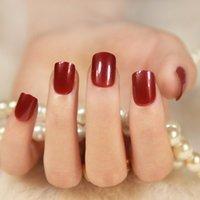 24 stücke Mode Falsche Nagelgel Tipps Gefälschte Nägel Kit Vollnägel Tipps Oval Nail art Schönheit Fingerdekoration Für Hochzeit