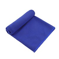 Sport Cooling Towel Microfiber Instant Cool Ice Face Towels for Gym Swimming Yoga Running 30x100cm Quick dry with Silicone Case CCF6515