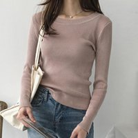 Shintimes Autumn Winter Elasticity Womens Sweaters Pullover Women Long Sleeve Knitted Sweater Clothing Sweter Mujer 2021 Women's