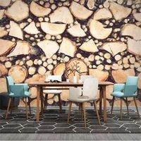 Sfondi Grandi Carta da parati 3D 3D Murale Personalizzato Moderna Mano Dipinto a mano GRANO GRAIN Ruota tv Sofà divano