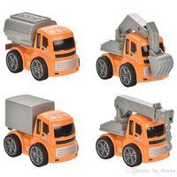 Mini Inertia Engineering Car Toy Vehicles Excavator Model Kid Educationl Gift Simulation Truck Style Random Boy Kids