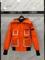 Mens Canada Parkas Femmes Designer Down Parka Femmes Vestes Manteaux Owl Outdoor Goose Constable Reflective Courte longueur Mid Longueur Tour Noir Orange Veste Orange