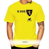 Men's T-Shirts Sell 2021 Fashion U-Boot U 332 German Navy Wh WK 2 Coat Of Arms Badge - T Shirt O-Neck