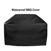 Waterproof BBQ Barbeque Cover Outdoor Rain Grill Anti Dust Protector For Heavy Duty Gas Charcoal Electric Barbecue Bag POU5 HH0V