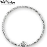 Charme Armbänder Link Kette Silber Überzogene Modeschmuck Für Frauen Männer Trendy Geschenk Karma DIY Armband