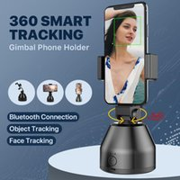 Auto Smart Disparo Selfie Stick AI Gimbal Robot personal Cameraman 360 ° Rotación Cara de Rotación Cámara Teléfono Móvil Monopods