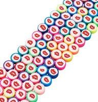 Другие 5 Strand Flat Round Polymer Глиняные Бусины Район Spacer Star Pattern Свободно Для Ювелирных Изделия DIY Браслет Ожерелье Аксессуары