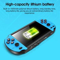 Portable Game Players Est 4.3 Inch Handheld Console Dual Joystick 8Gb Built-in 10,000 Free Games Support Tv Out Video Machinel
