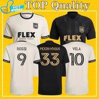 LAFC Soccer Jerseys 2021 Away الصفحة الرئيسية كرة القدم قميص Los Angeles FC Vela Rossi أعلى جودة أكثر 15pcs