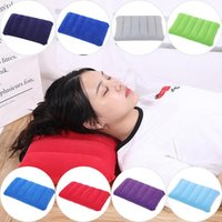 Outdoor Pads Portable Folding Air Inflatable Pillow Travel Camping Bed Picnic Blanket Equipment Sleeping Pad Ultralight