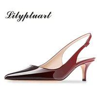 Lilyptuart Plus Talla 45 Conciso Party Zapatos Mujer Sexy Punto de punta de punta de Punta de Verano Fecha Date Fecha Back-Strap Sandals
