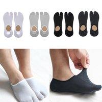 1 Pair Male Split 2 Toe Flip Flop Tabi Socks Men Sports Anklets Socks Tabi Ninja Geta Socks