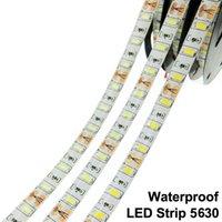 5m LED Strip Light 5730 5630 Flexible Waterproof Tape 300LED 60led m 12V Ribbon Cold White Warm White