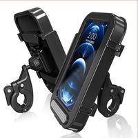 Car & Truck Racks Bicycle Phone Holder Waterproof Case Bike Bag Takeaway Rider Mobile Outdoor Cycling Equipment