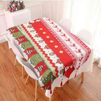 زخرفة عيد الميلاد الجدول عداء الأعلام الجدول عيد الميلاد شجرة الأيائل سانتا كلوز طباعة سماط placemat الرئيسية عيد الميلاد الجدول ديكورات bc bh4347