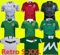 1997 1998 Edizione Messico Retro Soccer Jersey 2006 1995 1986 1994 Blanco Luis Garcia Ramirez National Team Football Uniforms Hernandez Classic