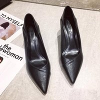 Dress Shoes Women Pumps Sexy Elegant Thin Heel Pointed High Heels Black Work Single Party Womens Red Wedding