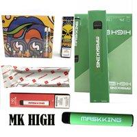 M K High PRO MAX DISACKABLE PODS Device Kit E-Zigaretten 1500 Puffs 850mAh Batterie 4,5ml Vorgefüllte Patrone Pod Vape Stick Pen MK GT