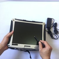Used CF-19 I5 4G Military Toughbook Diagnostic Laptop computer work with icom a2  mb star c4  5054A 3in1 hdd 2tb