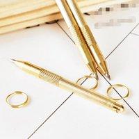 Metal Earpick With Pen Write Function Smoking Dabber Dab Tool Spoon Key Ring Accessories Wax Jar Scoop For Hookah Shisha Pipe Keychain Snuff