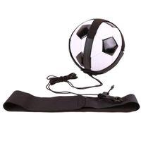 Cintura elástica Futebol Futebol Futebol Kick Throw Prática de solo Exercício de controle de ajuda Ajustável para acessórios para crianças