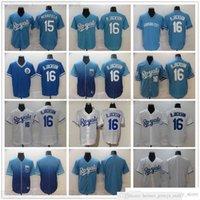 2021 Retro Baseball Stitched 16 Bo Jackson Jerseys Branco Azul 15 Whit Merrifield Jersey Blank Nenhum Número Nome para Homem Tamanho S-XXXL