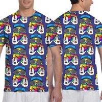 Men's T-Shirts Parent-child Outfit Magic Rezz Deep Men All Over Print Tshirt Women Fashion T Shirt Girl Boy Tops Tees Short Sleeve T-shirt