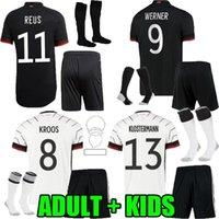 Yetişkin Çocuklar 21 22 Almanya Futbol Formaları Ev Uzaktan 2021 2022 ALMANAIA Maillot Reus Brandt Ginter Kimmich HARTTZ Kroos Werner Gnabry Erkekler Çocuk Futbol Gömlek