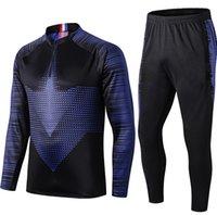2020 2021 Mens soccer tracksuit football training suit 20 21 football tracksuit maillot survetement foot chandal jogging