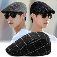 قبعات قبعات ربيع الخريف واقية من الشمس القنب كاب القنب الكورية الشباب والنساء القبعات عارضة متعددة الاستخدامات البريطانية التقدمية قبعة