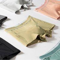 Underpants 2021 Men Cotton Panties Shorts Underwear Boxer Men's Sexy Breathable Comfortable Convex Pouch Ethika Boxers