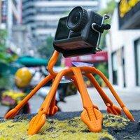 유니버셜 실리콘 낙지 휴대 전화 카메라 홀더 삼각대 안티 슬립 브래킷 셀 마운트 홀더
