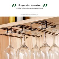 Tabletop Wine Racks Useful Iron Rack Glass Holder Hanging Bar Hanger Shelf Stainless Steel Stand Paper Roll HolderHigh Quality