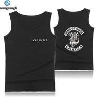 Men's Tank Tops SONS OF ODIN VALHALLA Bodybuilding Men Summer Vest O-neck Fitness Top Hip Hop King Sleeveless Shirt