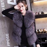 2019 чистые хорошие ручные и качественные фабрики продажи реальный страус меховой жилет для женщин осень весна новая коллекция wsr431 m1cb #